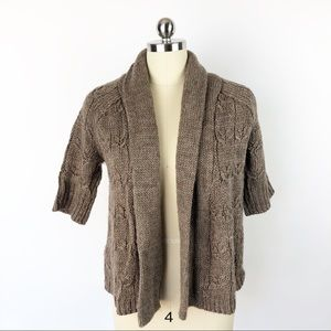 Ann Taylor Cable Knit Cardigan
